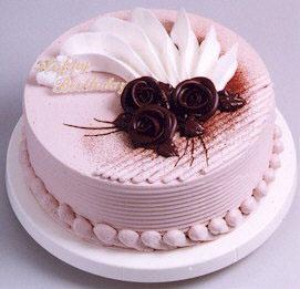 鲜花蛋糕-翱翔