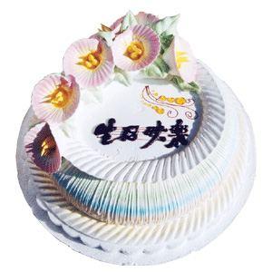 鲜奶蛋糕dangao-冰淇淋味蛋糕