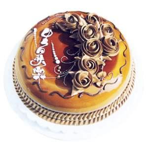 鲜花网站-巧克力口味
