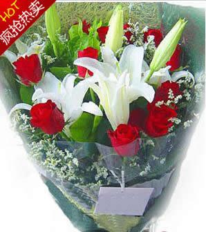 鲜花礼品-一世的幸福