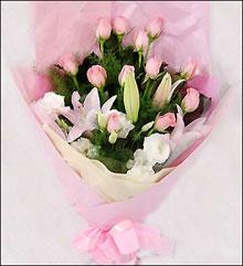鲜花店-红粉丽人