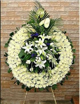 鲜花公司-哀悼花圈