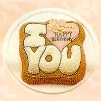蛋糕订购-I LOVE YOU