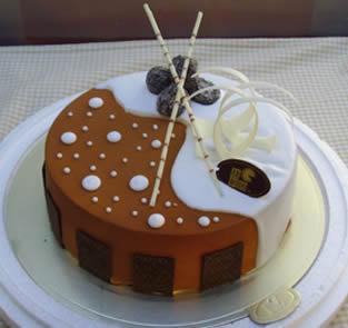 米旗品牌蛋糕-个性蛋糕