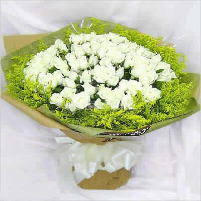 鲜花礼品-纯洁的LOVE