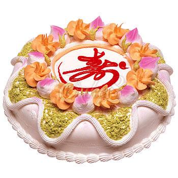 送蛋糕-健康长寿