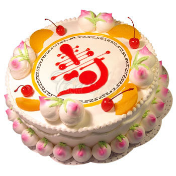 蛋糕订购-仙桃祝寿