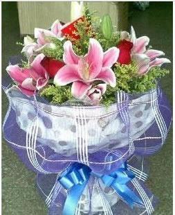 预订鲜花-蓝色金典