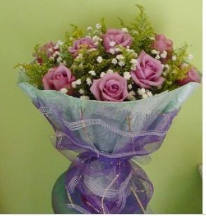 鲜花定购-紫色爱情