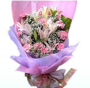 订花送花-祝福您