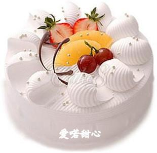 鲜花蛋糕速递网-爱喏甜心