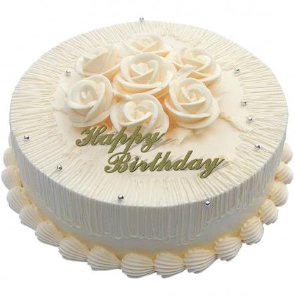 鲜花蛋糕-温馨一刻