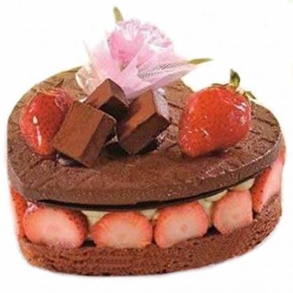 鲜花蛋糕-品味