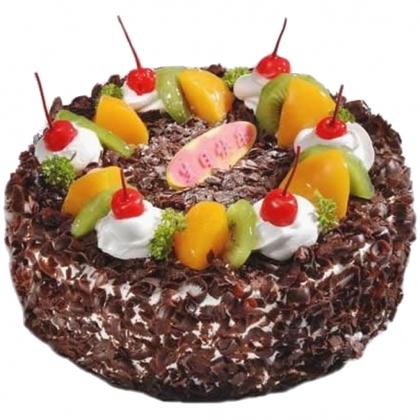 鲜花蛋糕套餐-挪威森林