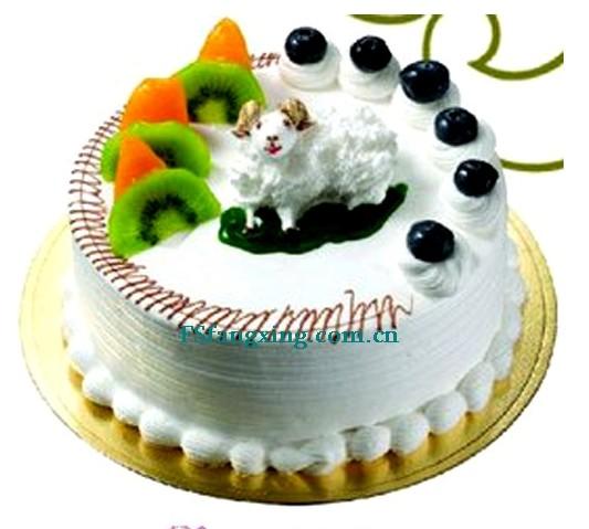 蛋糕订购-善良的羊