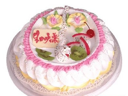 鲜花蛋糕-小蛇