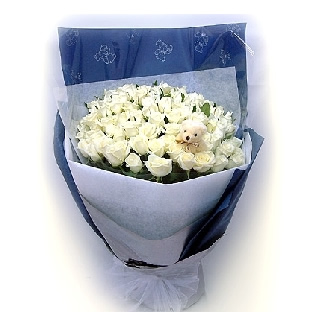 鲜花店-纯白之恋
