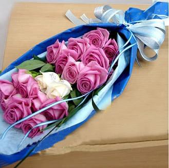鲜花订购-蓝色舞曲