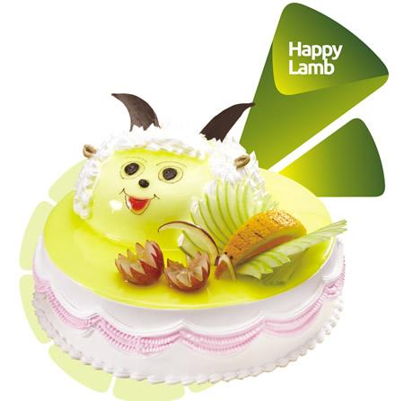 米旗蛋糕速递-米旗 喜洋洋