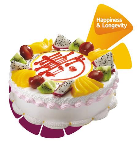 米奇订蛋糕-米旗 多福多寿