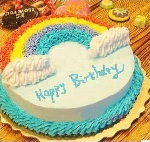 鲜花蛋糕速递网-美丽彩虹
