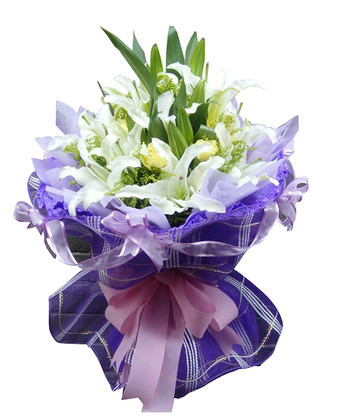 鲜花订购-温馨祝愿