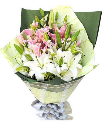 鲜花订购-祝福