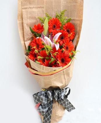 订花-幸福开心
