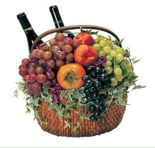 鲜花果篮-果篮・献给父亲的礼物