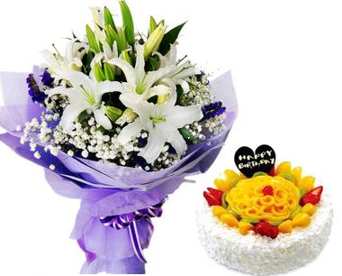 鲜花礼品-迷人的春色