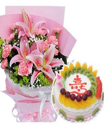 卖蛋糕-祝福安康