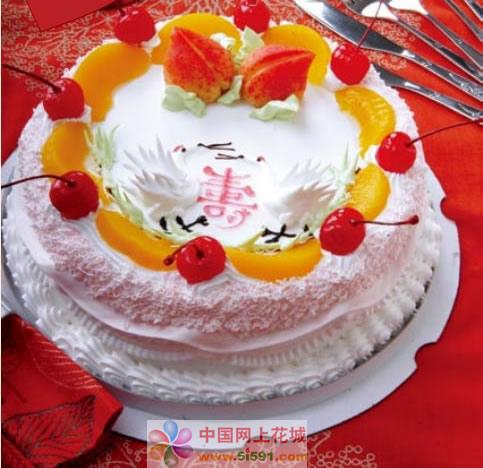 米旗品牌蛋糕-寿与天齐