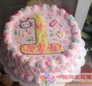 鲜花蛋糕速递网-周岁生日