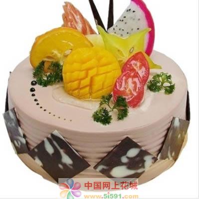 生日鲜花蛋糕-甜甜蜜蜜