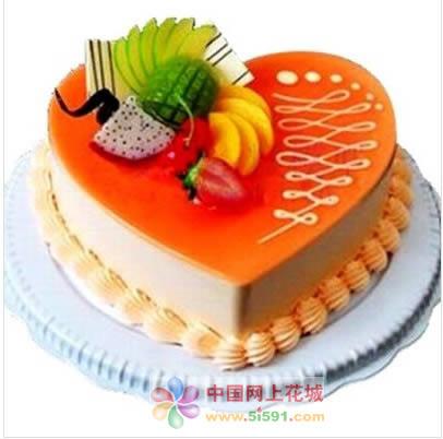 蛋糕鲜花-真情恋曲