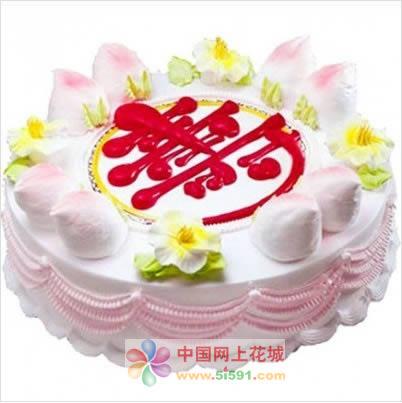 鲜花蛋糕-寿星之礼