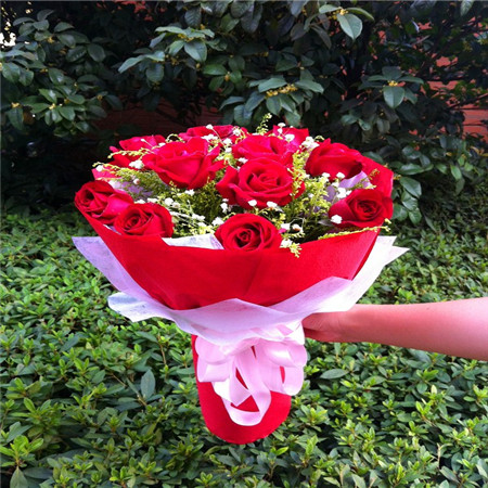 鲜花网站-红色情节