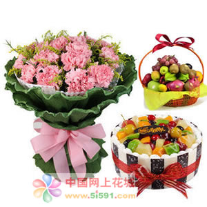 鲜花礼品店-醇醇祝福