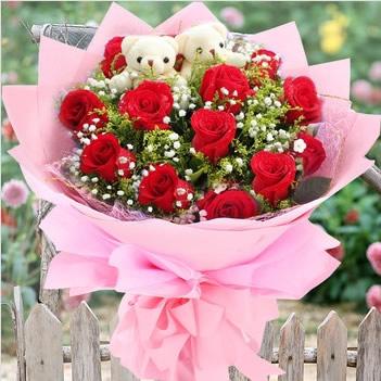 鲜花礼品-坚定的爱