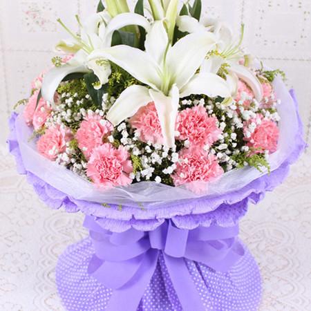 鲜花礼品-容颜灿烂