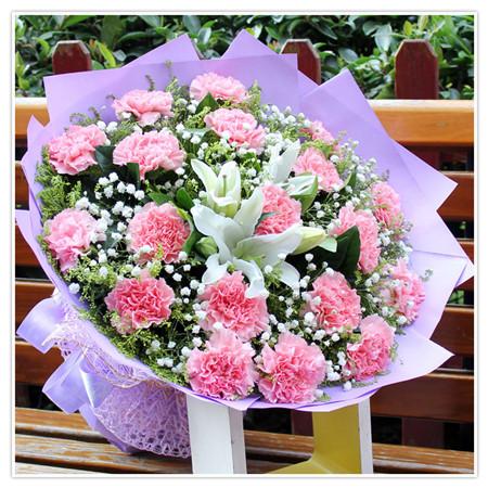 鲜花定购-幸福女人