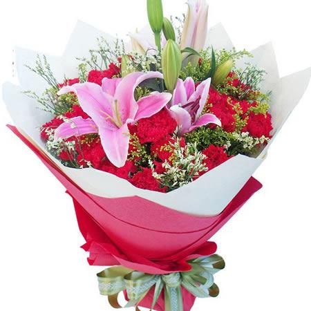 鲜花礼品-纯真之美