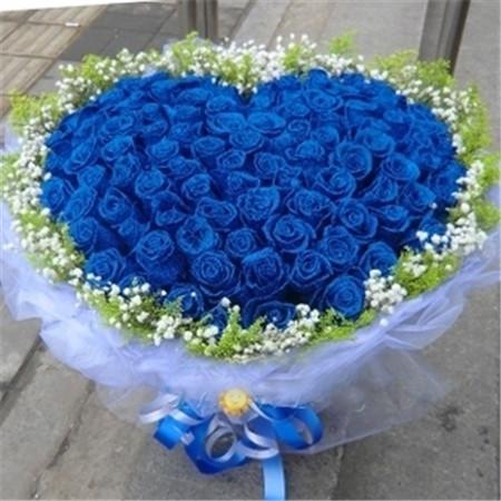 订花服务-蓝色爱情海