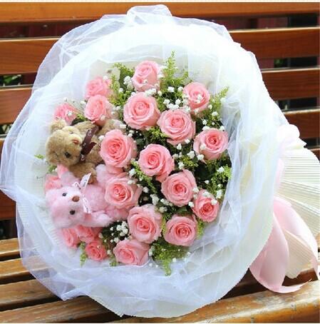 订花-粉色梦幻