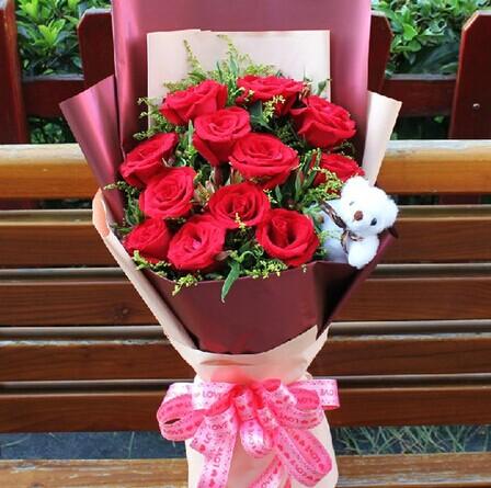 鲜花订购-一生的爱