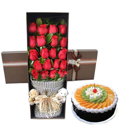鲜花店-生日祝福