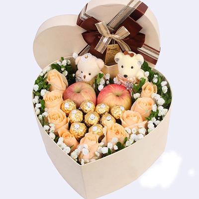 鲜花礼品店-圣诞礼盒2