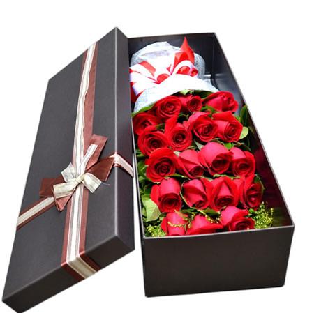 鲜花礼品店-用心爱你