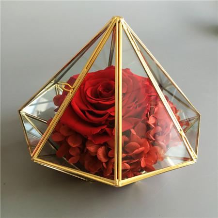 鲜花订购-钻石款红色