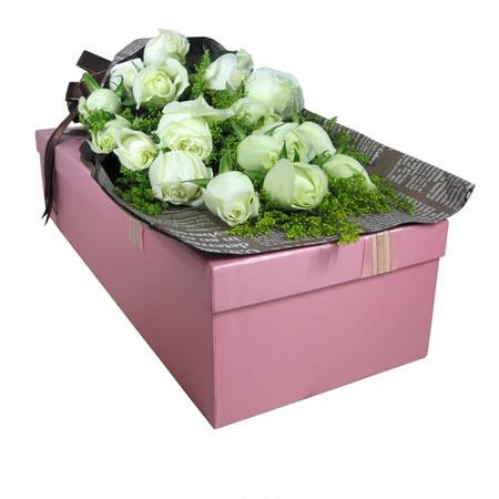 鲜花订购-纯纯的爱